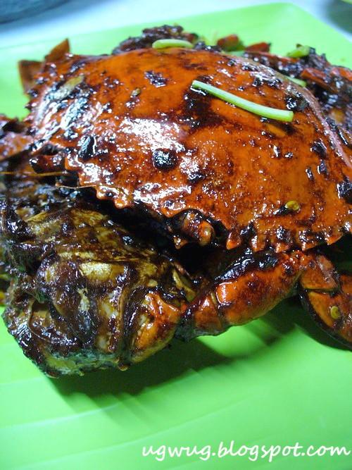 Marmite Crab
