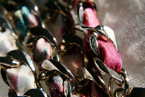 Hint of fuschia in my Witchery bracelet