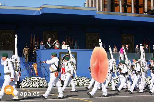 el coñazo del desfile