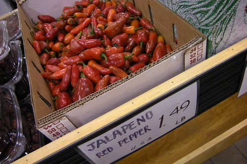 red jalapenos