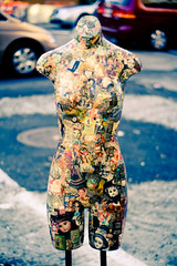 Torso of Awesome (raelala) Tags: newyorkcity eastvillage 50mmf18 billysantiques billysantiquesandprops