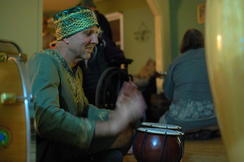 Rand on Tabla