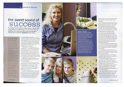 Simone Hanckel Photography - Family Circle article