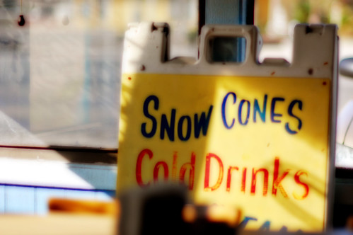 Snow Cones...Cold Drinks