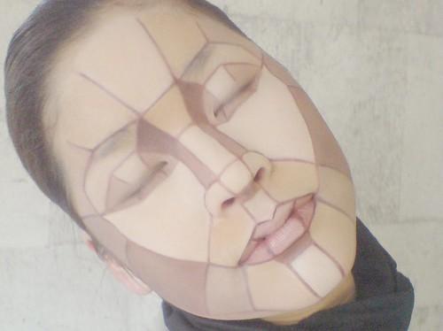 写真展『顔×化粧』