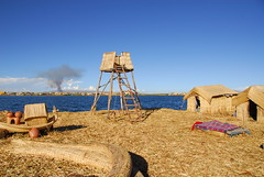 Island Lookout, Lake Titicaca