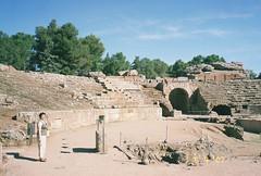 CNV00023 (David Denny2008) Tags: summer spain ruins roman merida classical brunette milf civilisation 2007