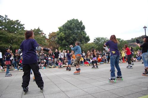 [光が丘インラインフェスティバル2008]合同ダンス