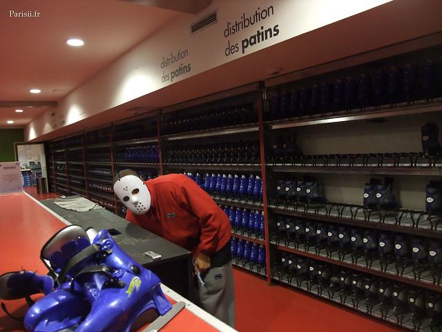 On est servis par Jason de Vendredi 13, on a interêt à bien prendre soin des patins...
