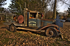 Old Rusty Truck from Elko, Minnesota (www.bazpics.com) Tags: trip brown hot rot rotting look car minnesota countryside rat paint day sam antique rusty barry fade waste rotten scrap baz sams oneil deteriorate bazpics barryoneilphotography