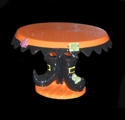 Halloween cake plateau