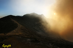 Sun at sunset (lymy) Tags: indonesia plateau probolingo ijen kawah
