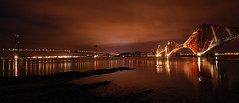 The Forth Bridges (Surely Not) Tags: road bridge water night scotland nikon edinburgh long exposure rail moo forth surely d80 not yourphototips thephotoproject