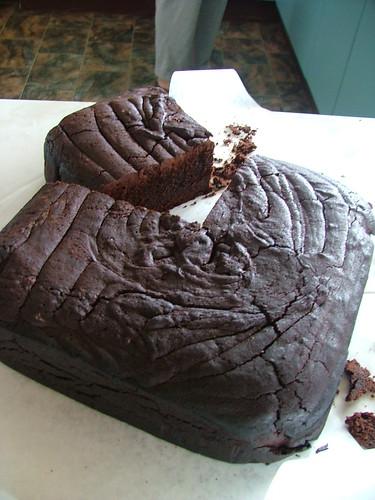 Disaster Cake!