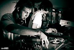 SUNHOLE.NET at Club Art Café (DaniDune) Tags: bw radio dj canarias bn tenerife techno electronic dubstep lalaguna basses flavi artcafe tanin danidune sunholenet clubartcafe