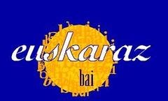euskaraz bai LOGOA urdinai (Euskaltzaleen Topagunea) Tags: bai euskaraz kontseilua