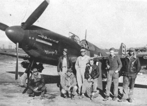 Warbird picture - North American A-36A - Margie H