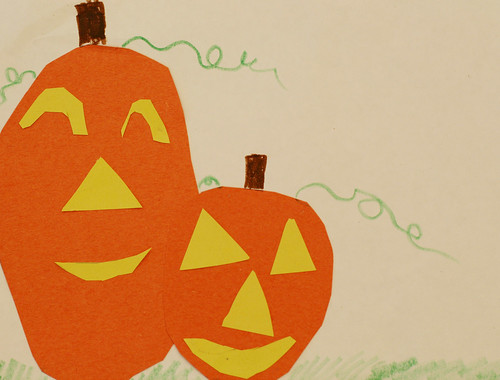 Kaylee's overlapping pumpkins