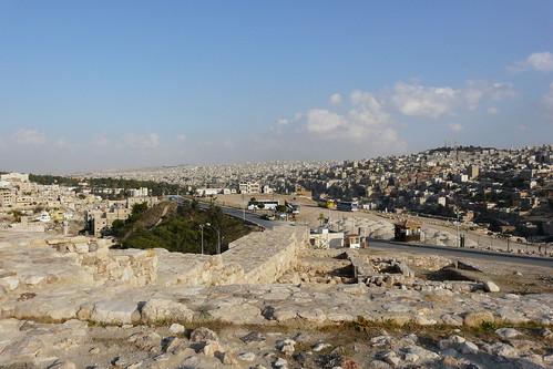 Amman dall'alto