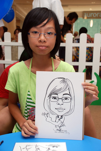 caricature live sketching for West Coast Plaza day 2 - 31