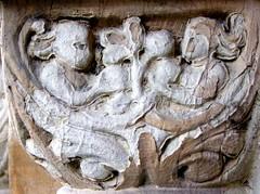 St Margaret York (tina negus) Tags: york sculpture medieval romanesque treeoflife stmargaret chutch southdoor