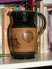doulton water jug (pondhopper1) Tags: stoneware royaldoulton doultonlambeth