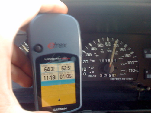 My GPS shows my speedometer is off by 4 mph