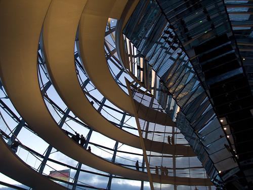 Cúpula del Parlamento alemán-