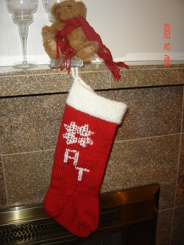 Holiday Stocking 2008