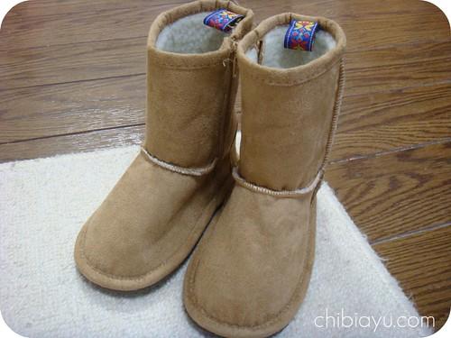 レモールのフェイクムートン子供用ブーツ3