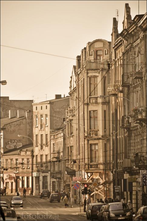ul. Legionów w Łodzi