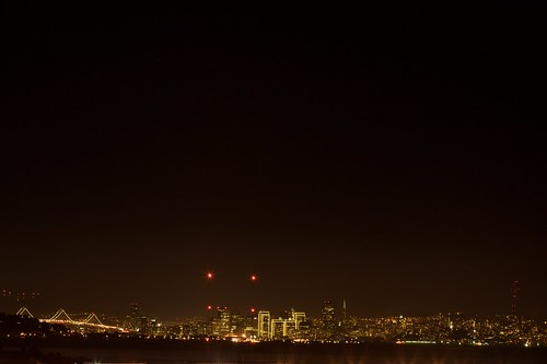 San Francisco At Night, From Richmond