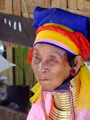 Long neck Hill-tribe 3 (sawaddeedave) Tags: thailand longneck padang hilltribe maehongson burmeseborder