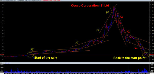 Cosco - short term vs long term investment
