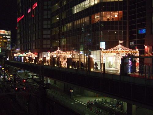 Christmas illumination(Shinjuku Takashimaya)