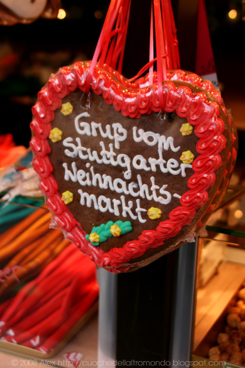 Saluti dal mercatino di Natale