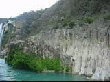 Jumping near Tamul waterfall - SLP (Nino H) Tags: nature water méxico mexico waterfall tropical mexique cascade cascada slp lahuasteca sanluispotosi tamul