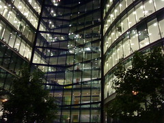 Architecture (carlosjg75) Tags: light building london luz glass modern noche transparency urbano vidrio desing