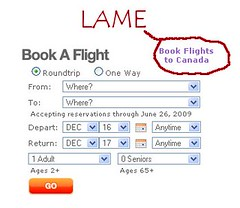 Southwest's Lame Link to WestJet