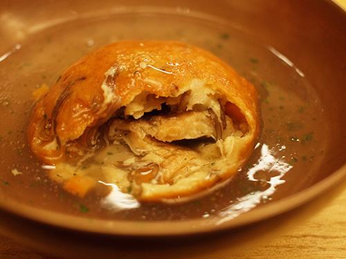 Roan-Kikunoi- tofu ball inside