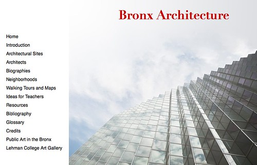 The Lehman College Art Gallery has launched a new wesbite chronicling the architecture of the Bronx.