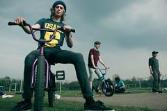 All Ours. (:LN|<) Tags: park sky hat bike yard dark junk bmx shoes all purple dom gang dry super skatepark skate vans milton keynes sands ours woburn