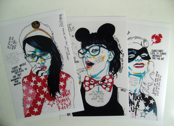 MR.FRIVOLOUS MINI PRINTS #2 (x3)