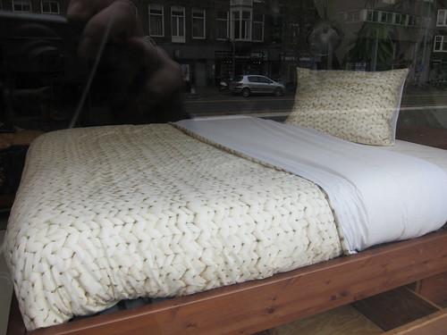 """""""Knit"""" bedding"""