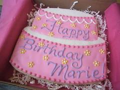 Birthday cookie-gram!
