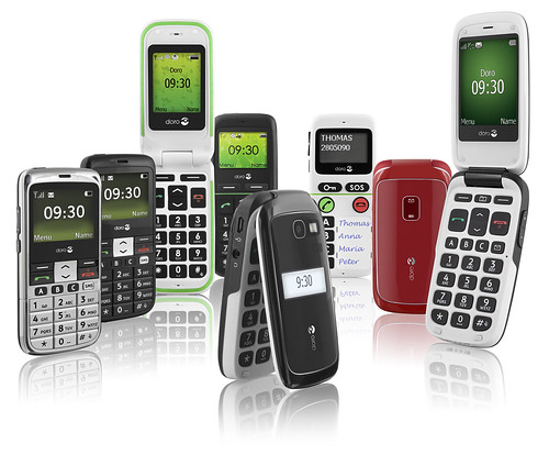 Teléfonos Móviles para Mayores