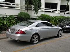 Mercedes-Benz CLS 350 (nakhon100) Tags: cars thailand mercedes 350 mercedesbenz cls jomtien c219