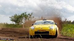 Nissan 350Z (autosport-media) Tags: canon nissan rally dirt panning 350z drift 500d 2011 kroeze vechtdal walraven shortrally