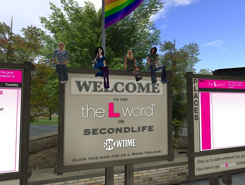 The L Word in Second Life 02-22-08
