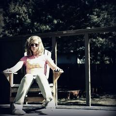 Day 18  Live & Let Live (lindseyy.) Tags: pink selfportrait me chair vans 365 aviators 365days liveletlive pinkshirtfromtarget layeringisfun